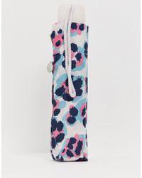 Fulton - Minilite Acid Leopard Print Umbrella - Lyst