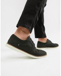 Red Tape - Holker Casual Lace Up Shoes In Black - Lyst