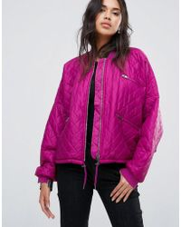 Free People - Easy Quilted Bomber - Lyst