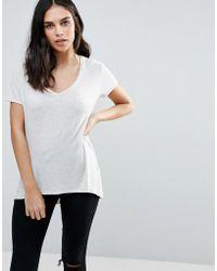 Dex - V Neck Boyfriend T-shirt - Lyst