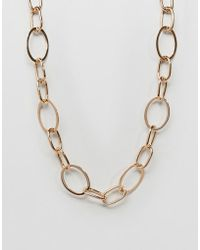 Mango - Chain Necklace - Lyst