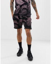 ce8d08d05e D-Struct - Gradient Palm Print Mix N Match Shorts - Lyst