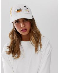 9a6f1484 Vans X Lazy Oaf Cap With Bow Back in Pink - Lyst