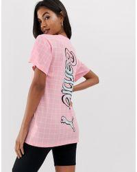 4820dc0e2f1 PUMA - X Barbie Archive Back Print T-shirt - Lyst
