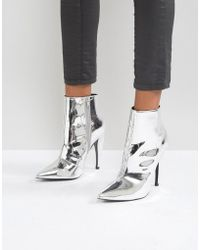 ASOS - Evangelina Pointed Ankle Boots - Lyst