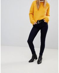 Pieces - Five Betty Soft Skinny Jeans - Lyst
