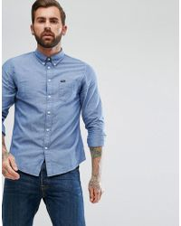 Lee Jeans - Jeans Button Down Oxford Shirt - Lyst