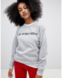 Adolescent Clothing - See You Next Tuesday Sweatshirt - Lyst