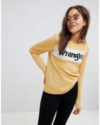 Wrangler - Sparkle Logo Knit - Lyst
