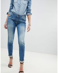 Replay - Katewin Slim Jeans - Lyst
