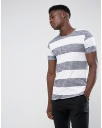 Minimum - Cabra Striped T-shirt - Lyst