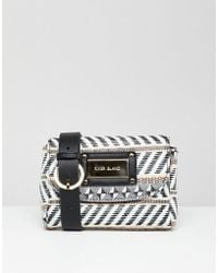 River Island - Woven Fanny Pack - Lyst