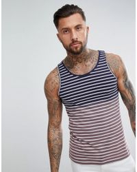 Another Influence - Ombre Stripe Singlet - Lyst