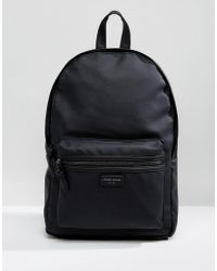 New Look - Backpack With Pocket In Black - Lyst