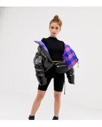 b15c5dd70e6 Collusion - Petite High Waist legging Shorts - Lyst