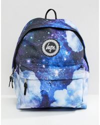 ea34a5491321 Hype Backpack In Faded Rose Print in Black for Men - Lyst