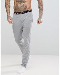 Nicce London - Joggers With Waistband - Lyst