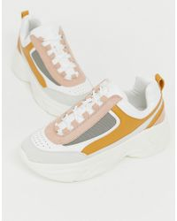 Pull&Bear - Chunky Trainer In Multi - Lyst