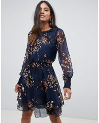 Y.A.S - Filukka Floral Print Dress - Lyst 4d5286e4e