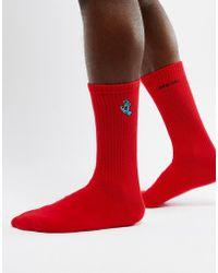 Santa Cruz - Mini Hand Socks In Red - Lyst