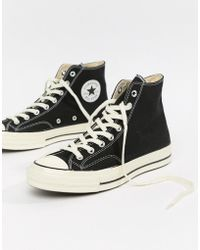 95d697440e Converse - Chuck Taylor All Star  70 Hi Trainers In Black 162050c - Lyst