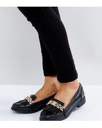Missguided - Chain Tassle Loafer - Lyst