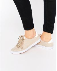 Blink - Suede Lace Up Sneaker Trainers - Lyst