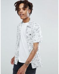 Lee Jeans - Match Stick Short Sve Shirt - Lyst