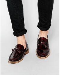 Lambretta Tassel Loafers - Brown