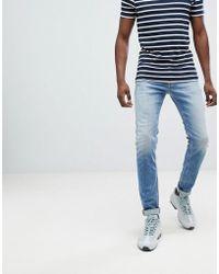 DIESEL - Sleenker Skinny Jeans 084vd - Lyst