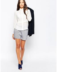 Just Female - Japan Shorts In Dot Print - Lyst