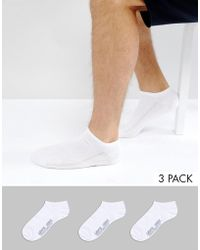 Levi's | Trainer Socks 3 Pack White Exclusive | Lyst