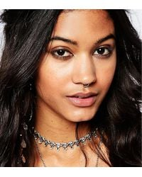 Kingsley Ryan - Sterling Silver Faux Septum Nose Ring - Lyst