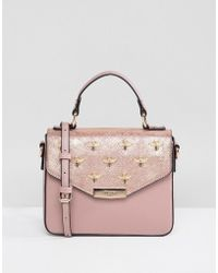 Dune - Studded Bee Tote Bag - Lyst