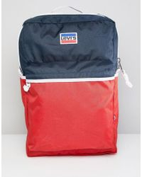 Levi's - Levi's Backpack With Retro Logo - Lyst