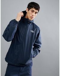 The North Face - Quest Jacket Waterproof Hooded In Navy - Lyst