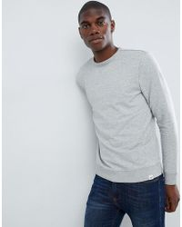 Lee Jeans - Jeans Crew Neck Sweater - Lyst
