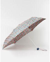 Cath Kidston - Minilite Umbrella In Mews Ditsy Print - Lyst