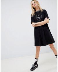 Vans - X Lazy Oaf Bad For You Dress - Lyst