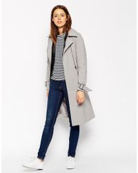 ASOS - Trench With Zip Detail - Lyst