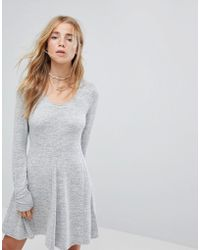Hollister - Cosy Scoop Neck Dress - Lyst