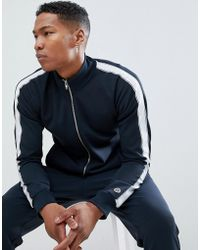 SELECTED - Track Top With Badge Detail - Lyst