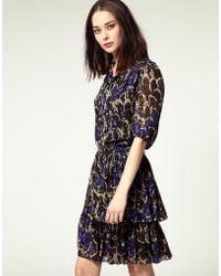 NW3 by Hobbs - By Hobbs Dress Wilson Printed Dress - Lyst