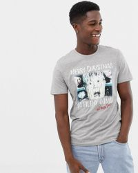 Jack & Jones - Originals Christmas T-shirt With Home Alone Graphic - Lyst