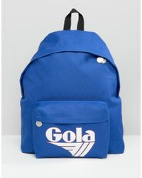 Gola - Exclusive Classic Backpack In Blue And White - Lyst
