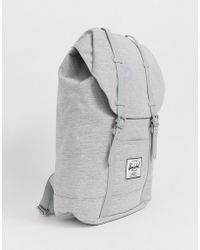 e2398638ae Herschel Supply Co. - Retreat 19.5l Backpack In Crosshatch Light Gray - Lyst