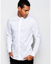 Vito - Shirt In Slim Fit - Lyst
