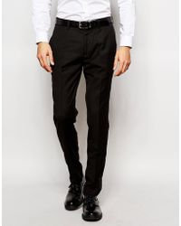 Vito - Tuxedo Suit Pants In Slim Fit - Lyst