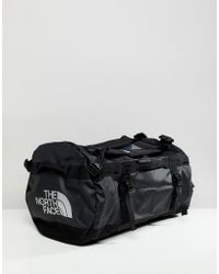 The North Face Base Camp Duffel Bag Small 50 Litres In Black