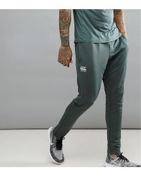 Canterbury - Canterbury Tapered Stretch Trousers In Khaki Exclusive To Asos - Lyst